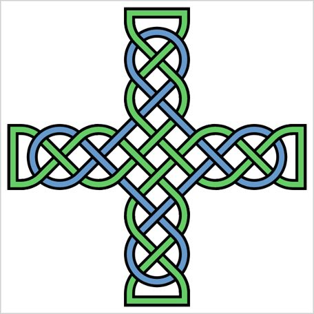 free celtic cross clipart